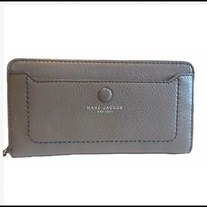 Marc Jacobs Pebbled Leather Wallet